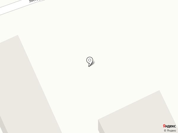 Автосервис на Янтарной на карте Белово
