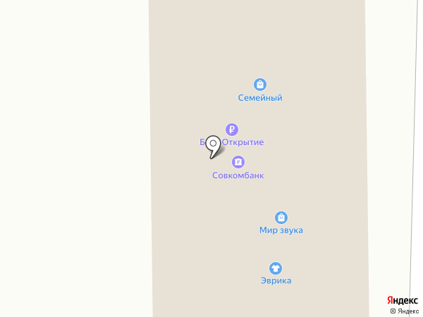 Банкомат, Банк УРАЛСИБ на карте Белово