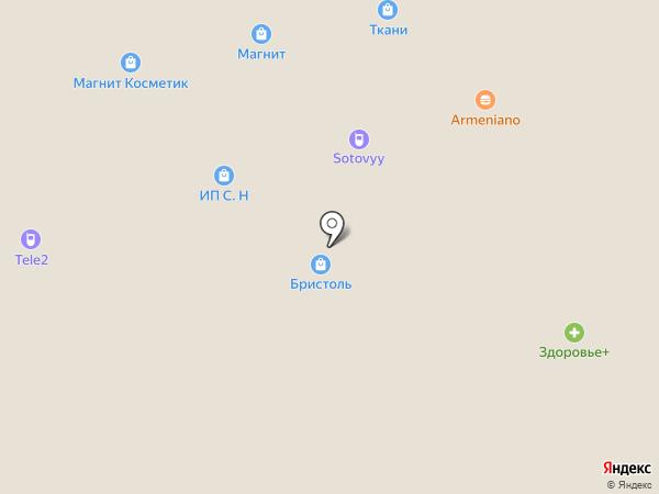 Банкомат, Газпромбанк на карте Грамотеино