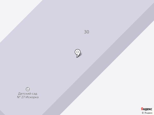 Детский сад №27 на карте Грамотеино
