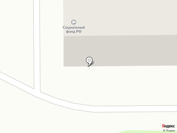 Центр социального обслуживания населения г. Белово на карте Грамотеино