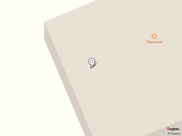 Таёжное на карте Инского
