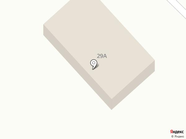 Якорь на карте Инского