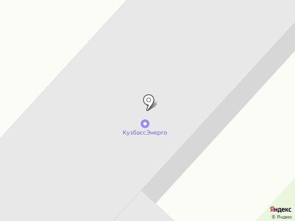 Беловская ГРЭС на карте Инского