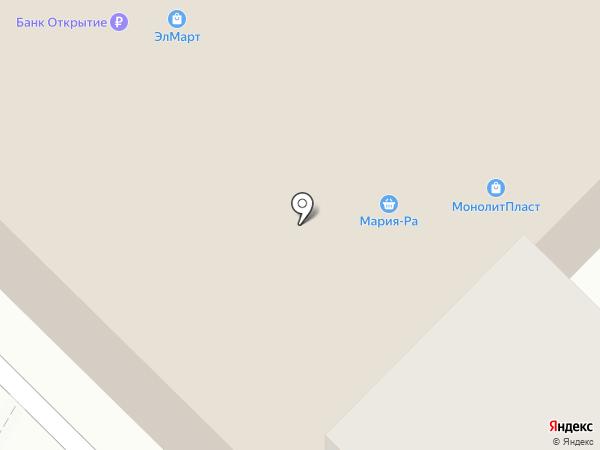 Эл-Март на карте Инского