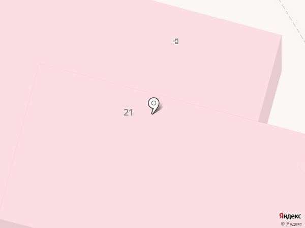 Беловская центральная районная больница на карте Инского