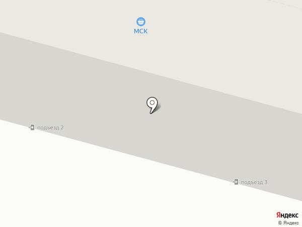 МСК на карте Инского