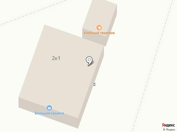Киоск по продаже хлебобулочных изделий на карте Инского
