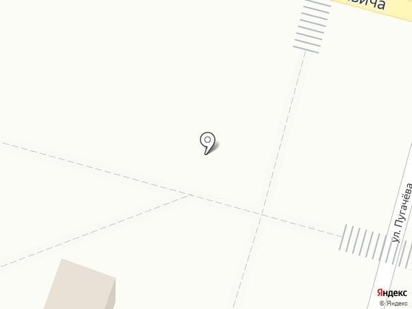 Киоск по продаже мороженого на карте Инского