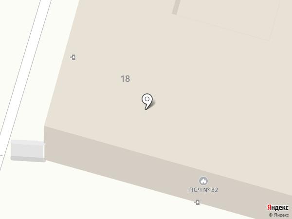 Пожарная часть №32 на карте Инского