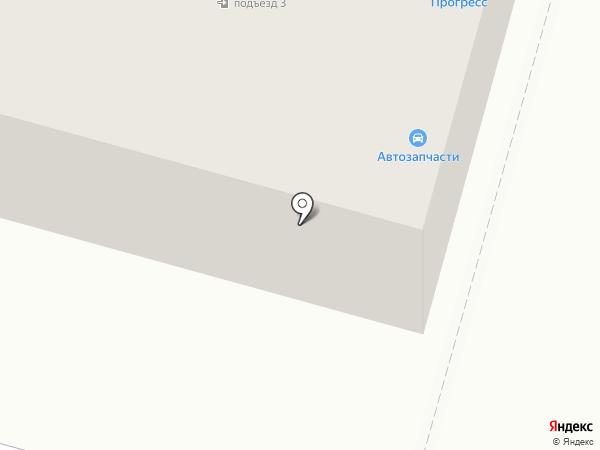 Магазин автозапчастей для ВАЗ на карте Инского