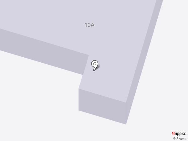 Детский сад №18, Хрусталик на карте Инского