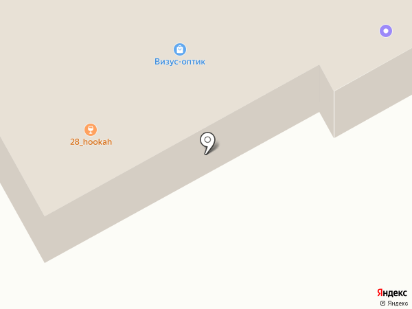 Находка на карте Киселёвска