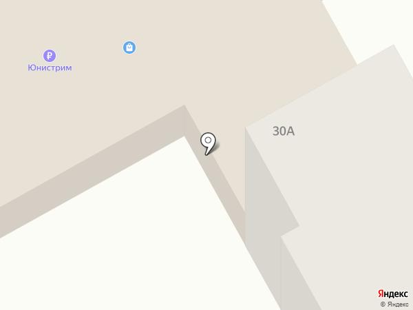 Киловатт на карте Киселёвска