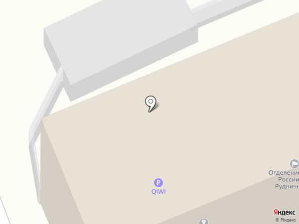 Отдел по борьбе с экономическими преступлениями УВД по г. Прокопьевску на карте Прокопьевска