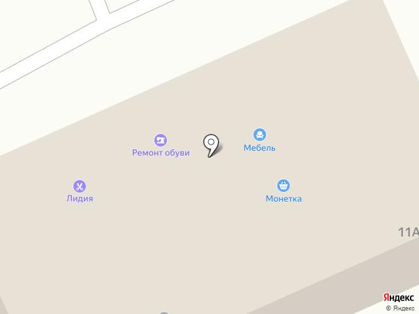 Мебель на карте Прокопьевска