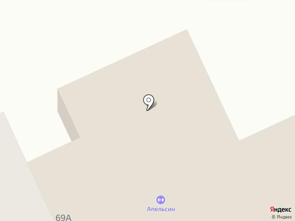 Комильфо на карте Прокопьевска