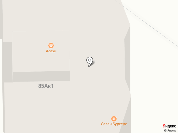 Асахи лайт на карте Прокопьевска