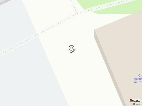 Комплексная ДЮСШ на карте Прокопьевска