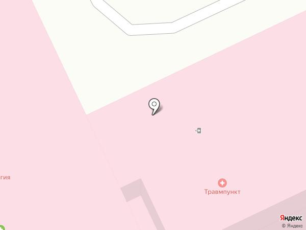 Травмпункт на карте Прокопьевска