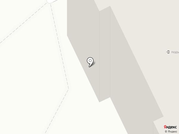 Пена на карте Прокопьевска