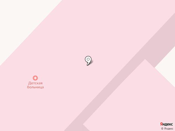 Детская больница на карте Киселёвска