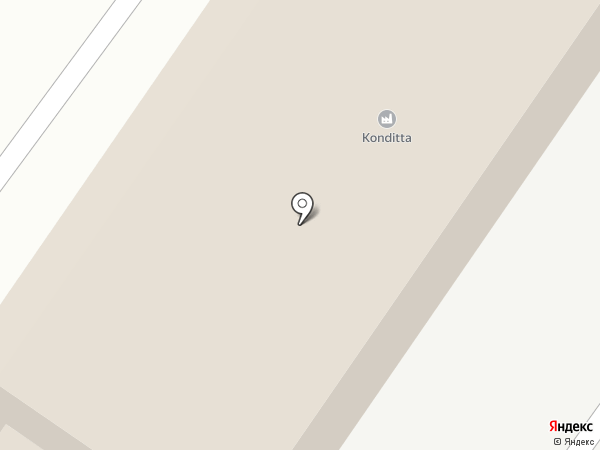 Konditta на карте Киселёвска