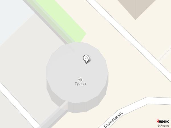 Автостоянка на карте Киселёвска