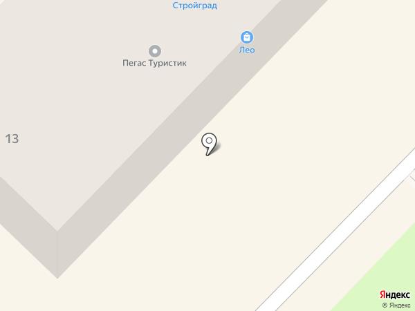 Прокомплект на карте Киселёвска