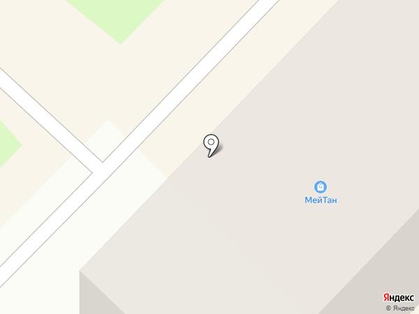 МейТан на карте Киселёвска