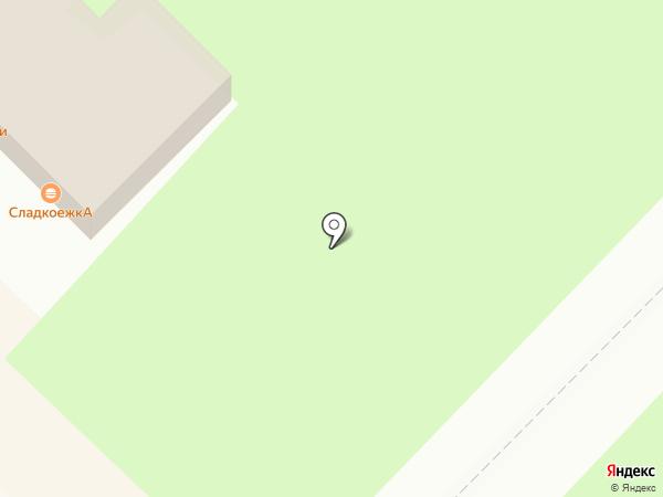 Вива на карте Киселёвска