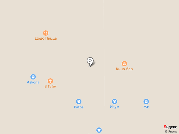 Кино-бар на карте Прокопьевска