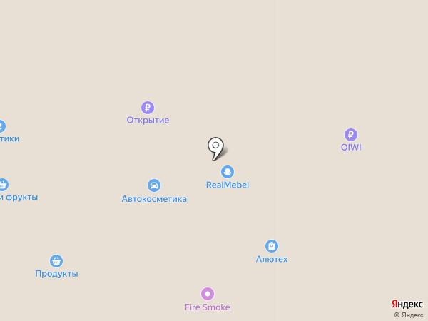 Разноторг на карте Прокопьевска