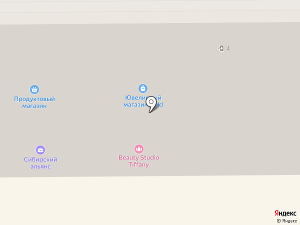 Кузнецкий ломбард на карте Прокопьевска