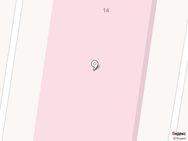 Городская инфекционная больница на карте Прокопьевска