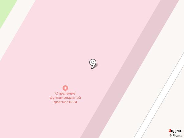 Городская больница №1 на карте Прокопьевска