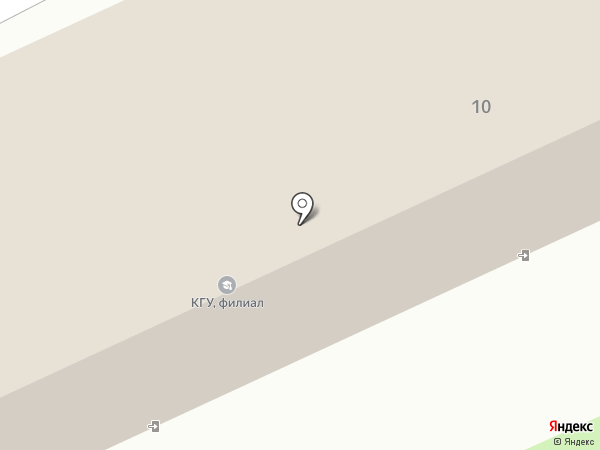 КемГУ на карте Прокопьевска