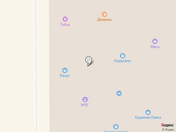 Партнер Инвест Финанс на карте Прокопьевска