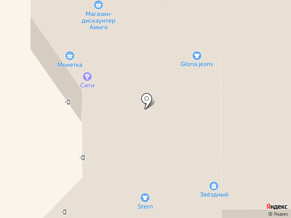 Gloria Jeans на карте Прокопьевска