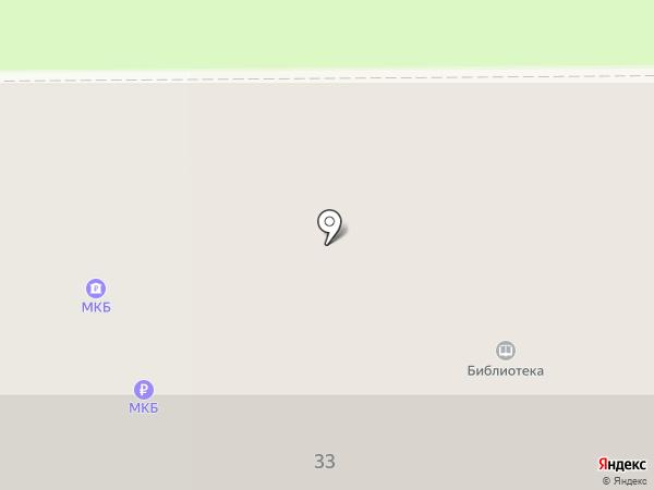 Библиотека №1 на карте Прокопьевска