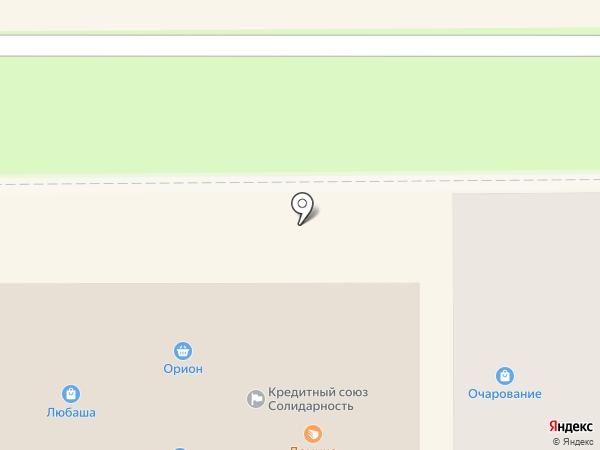 Визус-оптик на карте Прокопьевска
