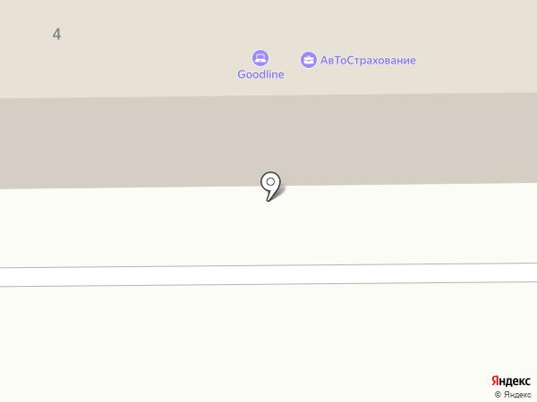 ПДЗ на карте Прокопьевска