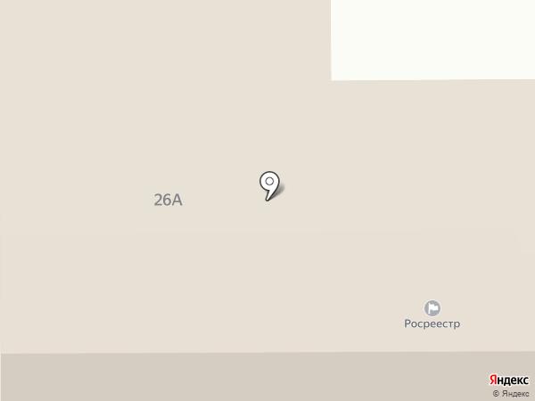Прокопьевская районная коллегия адвокатов №42/425 на карте Прокопьевска