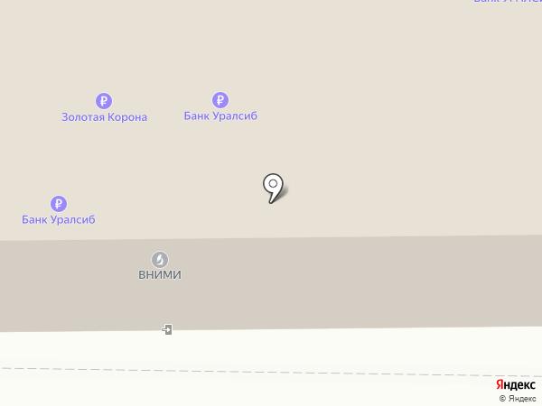 Банк УРАЛСИБ на карте Прокопьевска