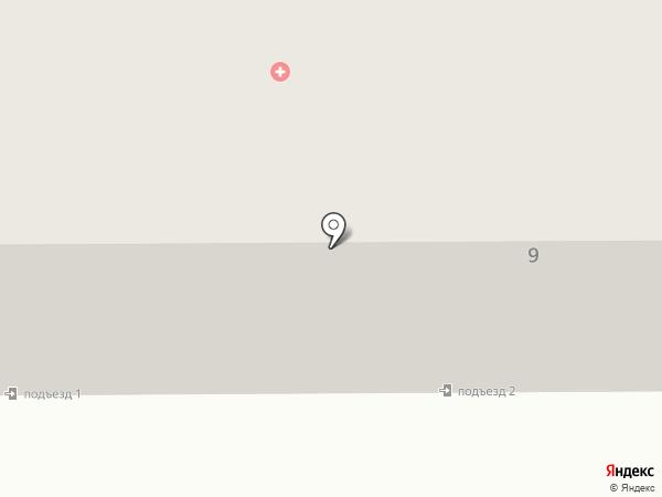 Шляпка на карте Прокопьевска