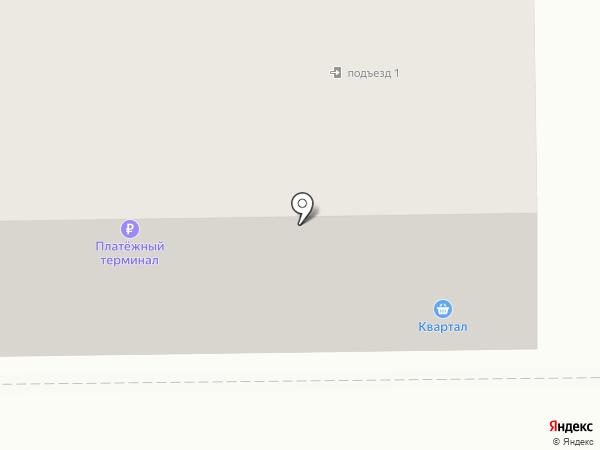 Квартал на карте Прокопьевска