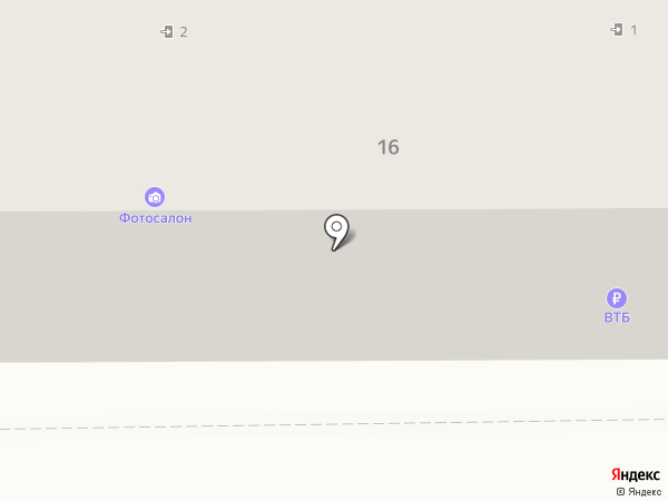 Софит на карте Прокопьевска