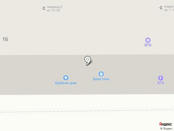 Банкомат, Банк ВТБ24 на карте Прокопьевска