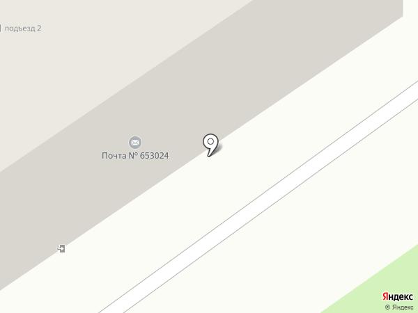 Почтовое отделение №24 на карте Прокопьевска