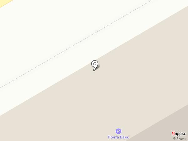 Почтовое отделение №4 на карте Киселёвска